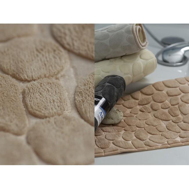 Tappeto bagno sasso